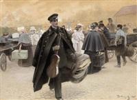 officer on leave by vassily ivanovich navozov