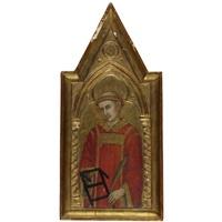 saint lawrence by taddeo di bartolo