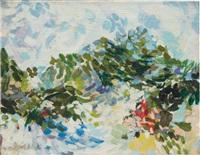 Blue Mountain Landscape, 1954