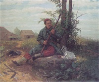 the weary soldier by julian scott