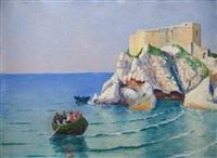zamek na skale by soter jaxa-malachowski