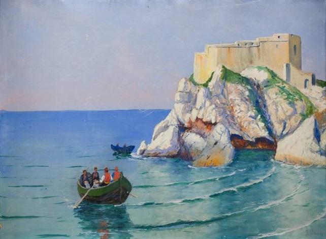 zamek na skale by soter jaxa malachowski
