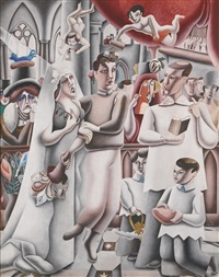 marriage à la mode by edward burra