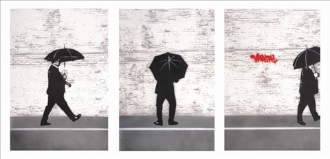 vandal triptych by nick walker