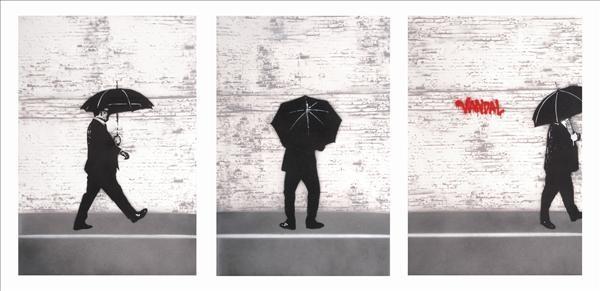 vandal triptych by nick walker