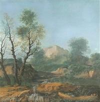 idyllic landscape by agostino aglio