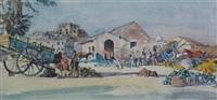 the melon market, capua by james mcintosh patrick