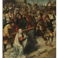 christ on the road to calvary by dutch school-southern (16)