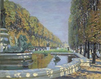 the luxembourg gardens, paris by alice maud fanner