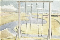 river by paul nash