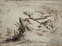 la colombe au rameau by heinrich der älter goeding