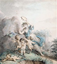 arcadian revels by lady diana beauclerk