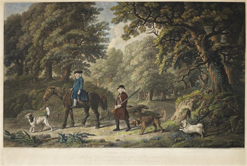 labourers game keepers pair by george stubbs