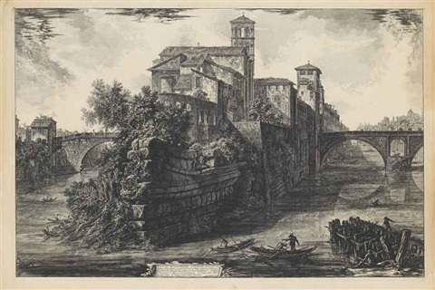 untitled from vedute di roma 4 works by giovanni battista piranesi