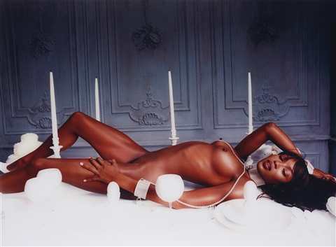 naomi campbell bon apetite new york by david lachapelle
