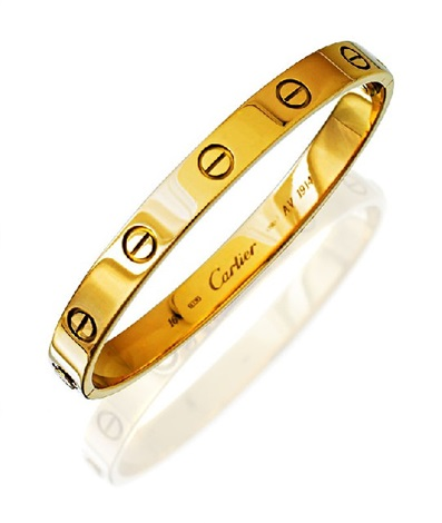 love bangle by cartier