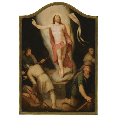 the resurrection of christ by cornelis cornelisz van haarlem