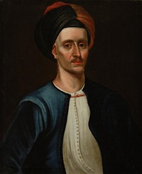 captain arter in a turban by richard waitt