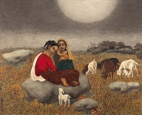 shepherdess (madura) by phua cheng phue