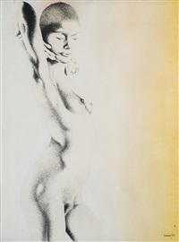 nudo di donna by giacomo porzano