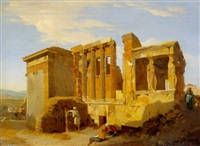 the temple of erechtheus, athens by sir charles lock eastlake