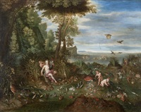 allégorie de l'eau by jan van ballen, jan van kessel and jan brueghel the younger
