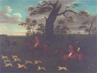 setting out for the hunt by john francis sartorius
