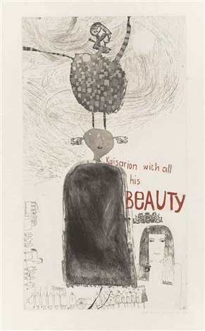 kaisarion with all his beauty by david hockney