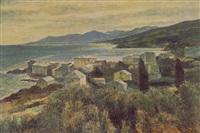paysage de corse, erbalunga by josé fabri-canti