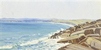 victor harbour from port elliot by robert waden