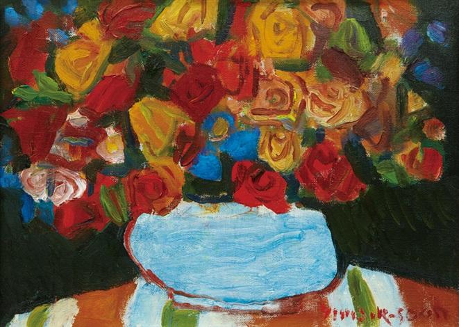 flowers by yim jiksoon