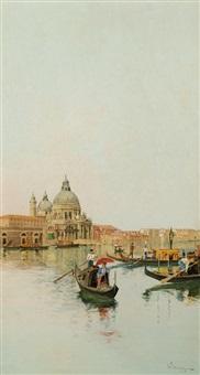 gondole a venezia by giuseppe vizzotto alberti