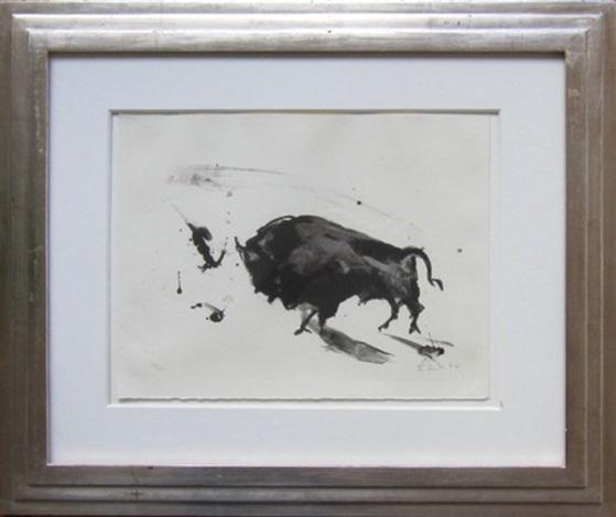 bull by elaine de kooning