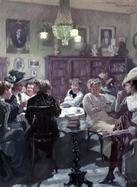 literary group by rené reinicke