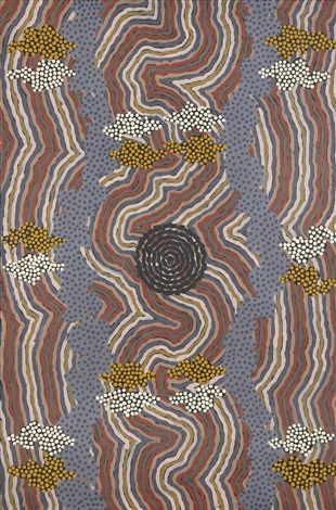 water dreaming by clifford possum tjapaltjarri