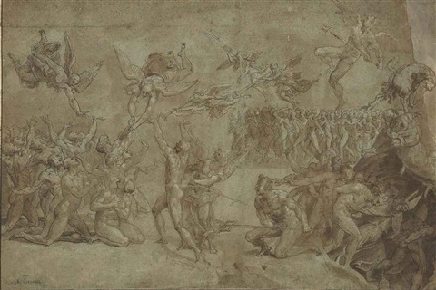 the last judgement by bonifazio de pitati
