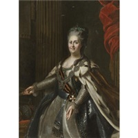 portrait of catherine the great by anton albertrandi