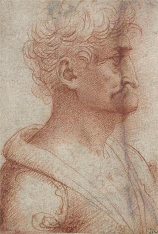 profil dhomme by leonardo da vinci