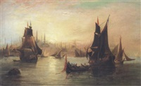 istanbul from the bosphorus by richard short