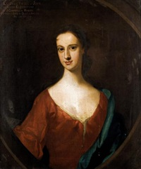 portrait of elizabeth, daughter of john, 8th lord of elphinstone by william aikman