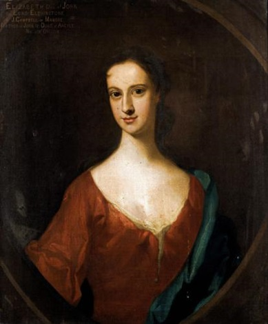 portrait of elizabeth daughter of john 8th lord of elphinstone by william aikman