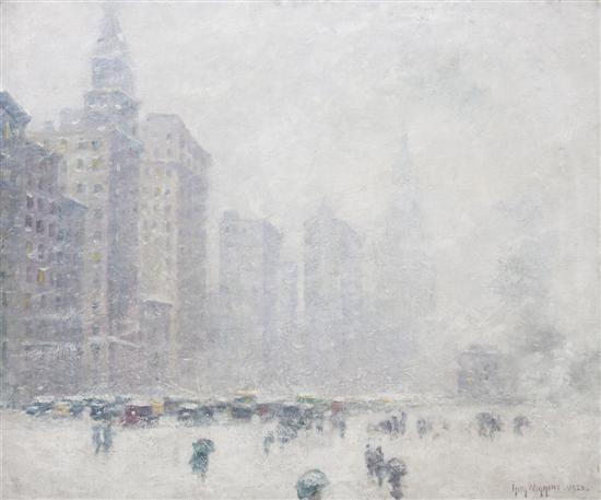 a chicago blizzard by guy carleton wiggins