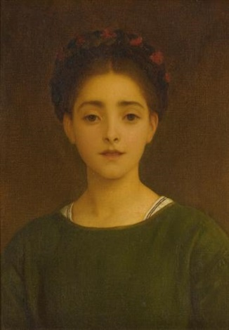 leandra by lord frederick leighton