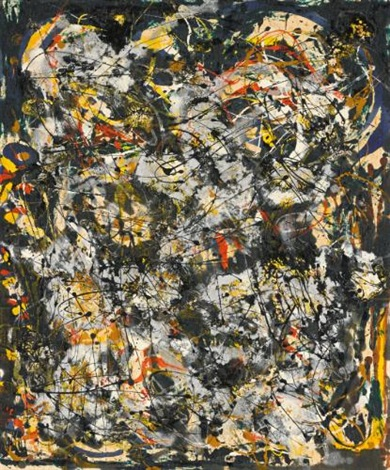 number 4 by jackson pollock