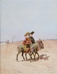 les cavaliers by enrique atalaya
