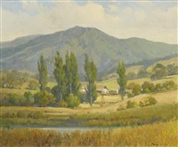 farm beneath mt. tamalpais by percy gray