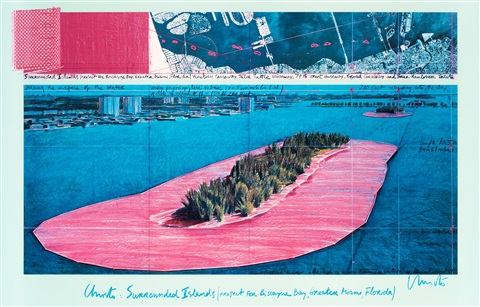 surrounded islands biscayne bay miami florida by christo and jeanne claude