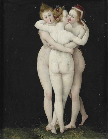 the three graces by lucas cranach the elder