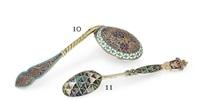 caviar spoon by antip ivanovich kuzmichev