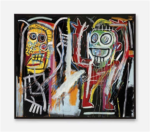 dustheads by jean michel basquiat